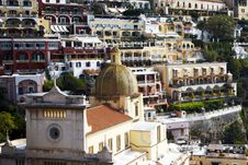 Free Positano On The Amalfi Coast, Italy Royalty Free Stock Photo - 4939485