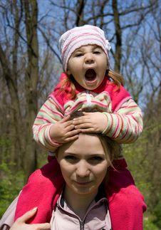 Girl With Mum