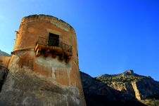 Free Palermo, Ancient Building Tower Royalty Free Stock Images - 4939559