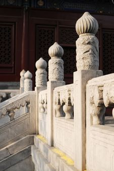 Free Stone Railing Royalty Free Stock Image - 4939846