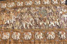 Free Myanmar, Mandalay: Handicraft, Embroidery Stock Images - 4939864