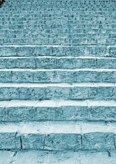 Free Blue Stairway Stock Photo - 4939960