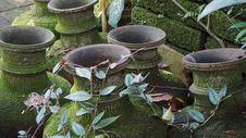 Free Old Buddhist Vases Stock Image - 49325691