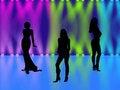 Free Three Girls Stock Photography - 4941292
