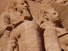 Abu Simbel Royalty Free Stock Images