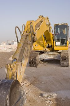 Free Industrial Heavy Digger Royalty Free Stock Image - 4941146
