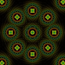 Free Quilted Treasure Mandala Stock Image - 4941931
