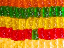 Free Gummy Bears Royalty Free Stock Image - 4941946