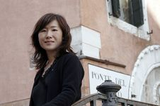 Asian Girl In Venice, Italy Stock Images
