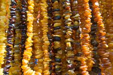Free Amber Nacklace Royalty Free Stock Images - 4943179
