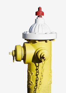 Free Yellow Fire Hydrant Stock Image - 4943451