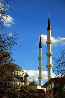 Free Kocatepe Mosque Stock Image - 4943611