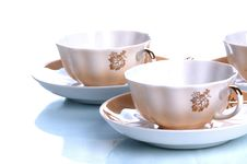 Free Cups And Saucers Royalty Free Stock Photography - 4944857