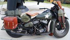 Free Military Bike Royalty Free Stock Image - 4944926
