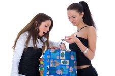 Free Business Lady Shopping Stock Photo - 4945050