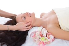 Free Attractive Woman Getting Spa Treatment Royalty Free Stock Photos - 4945118