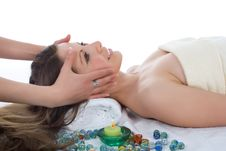 Free Attractive Woman Getting Spa Treatment Stock Photos - 4945123