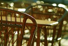Free Cаfe Chairs Royalty Free Stock Images - 4945439