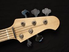 Free Bass Guitar Headstock Royalty Free Stock Image - 4945766