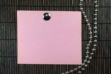 Free Pink Papaer Royalty Free Stock Image - 4945886