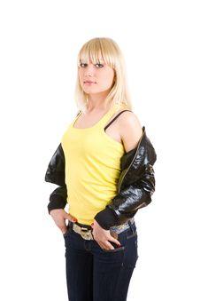 Free Fashion Blond Royalty Free Stock Image - 4946206