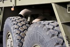 Free Truck Detail Royalty Free Stock Image - 4946586
