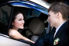 Free Looks Of Bride And Groom Stock Photos - 4946693