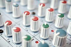 Free Mixing Desk Stock Photography - 4947102