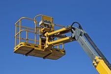 Crane Basket Royalty Free Stock Image