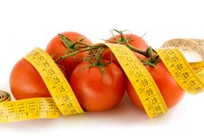 Free Tomato Brunch At The Measuring Tape Stock Photography - 4949122