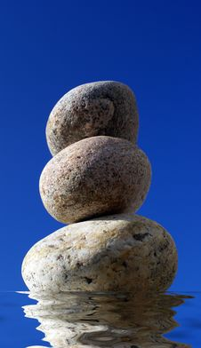 Free Stack Of Pebbles Royalty Free Stock Photo - 4949615