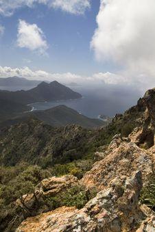 Corsican Coast Royalty Free Stock Image