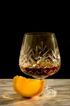 Free Soft Focus Cognac With Orange Stock Photos - 4950203
