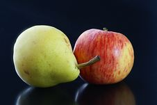Free Apple Pear Stock Photography - 4950402