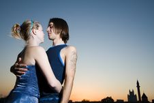 Free Young Adults In Love Royalty Free Stock Photos - 4951448