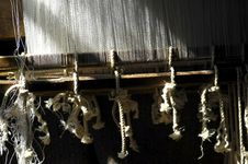 Free Myanmar, Inle Lake: Detail Of A Loom Stock Photography - 4951492