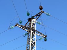 Free High Voltage Intersection Royalty Free Stock Photo - 4951495