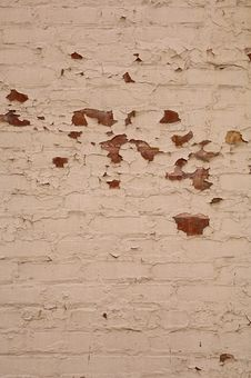 Free Textured Brick Wall For Background Stock Image - 4951691