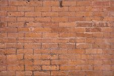 Free Brick Wall For Background Royalty Free Stock Photo - 4951705