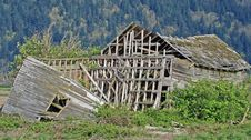Collapsed Building Royalty Free Stock Photos
