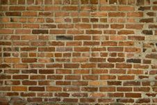 Free Brick Wall For Background Stock Photography - 4951742
