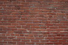 Free Brick Wall For Background Royalty Free Stock Images - 4951749