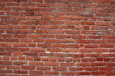 Free Brick Wall For Background Royalty Free Stock Photography - 4951757