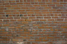 Free Brick Wall For Background Royalty Free Stock Photography - 4951767