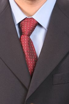 Free Detail Of A Suit And A Tie Stock Image - 4951781