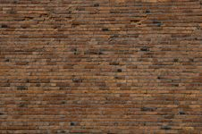 Free Brick Wall For Background Stock Photography - 4951782