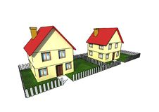Free Isolated House Stock Photo - 4952510
