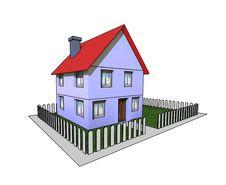 Free Isolated House Stock Image - 4952511