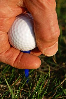 Free Teed Off Royalty Free Stock Photo - 4952605