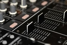 Sound Mixer Console Stock Photos